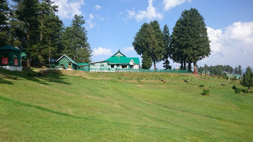 A cottage at Gulmarg