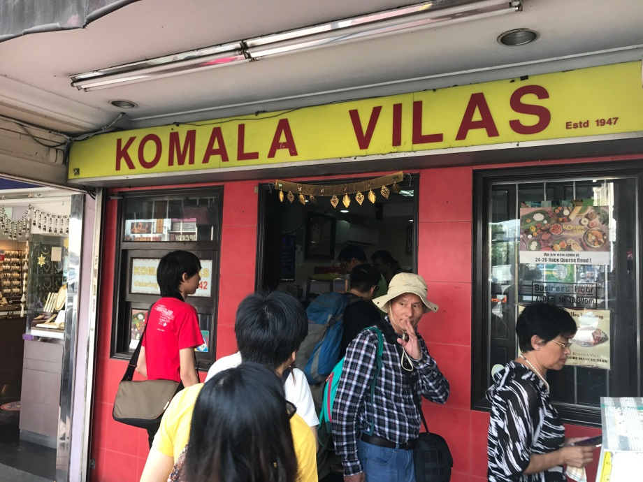 Komala Vilas, Little India, Singapore